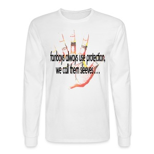 Hand of F.A.I.T. Series - College Rhythm Long Sleeve - Men's Long Sleeve T-Shirt