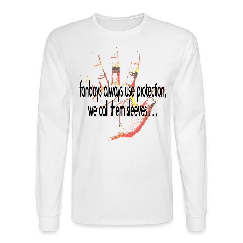 Hand of F.A.I.T. Series - College Rhythm Long Sleeve - Men's Long Sleeve T-Shirt