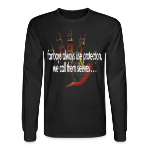 Hand of F.A.I.T. Series - FanBoy Long Sleeve - Men's Long Sleeve T-Shirt