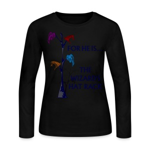 Wizard's Hat Rack - Long Sleeve - Women's Long Sleeve Jersey T-Shirt