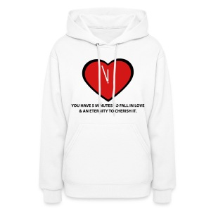 Time To Love  Hoodie for Women - Women's Hoodie
