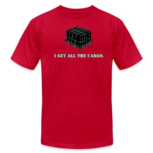 Gets all the Cargo - Men's T-Shirt by American Apparel