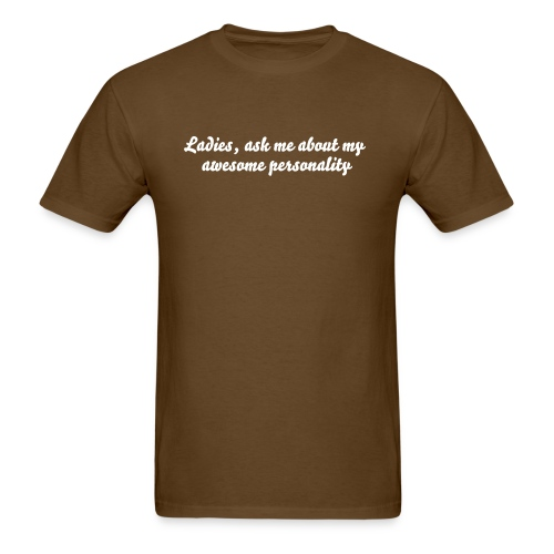 Awesome personality - Men's T-Shirt