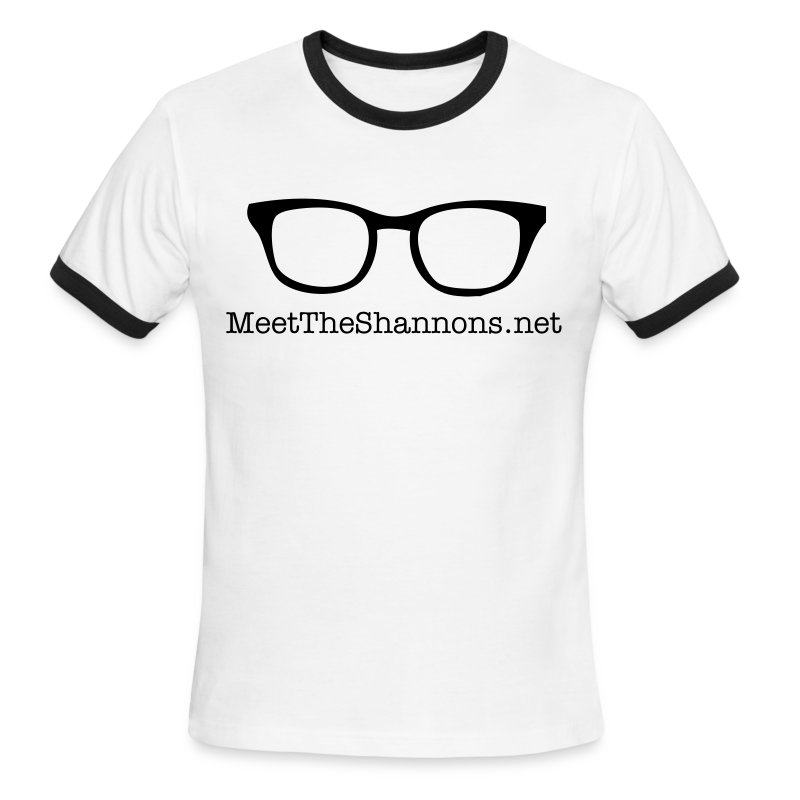 glasses - Men's Ringer T-Shirt