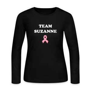 Ladies Long Sleeved - Team Suzanne Shirt - Women's Long Sleeve Jersey T-Shirt