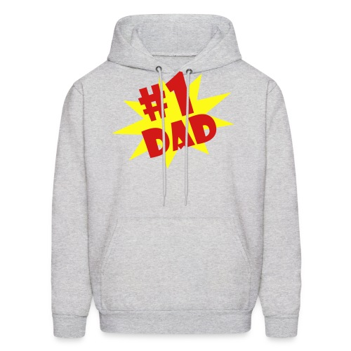 #1 Dad  - Father's Day Special - Limited Quantity Hoodie for Men - Men's Hoodie