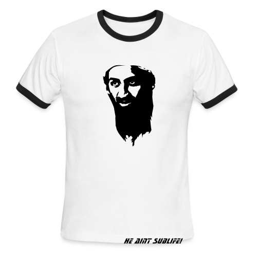 osama - Men's Ringer T-Shirt