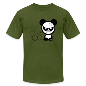 Chemical Panda - Men's T-Shirt by American Apparel