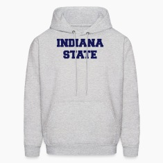 Ash  indiana state Hoodies
