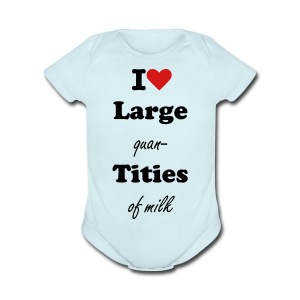 Large Quantities Creeper - Short Sleeve Baby Bodysuit