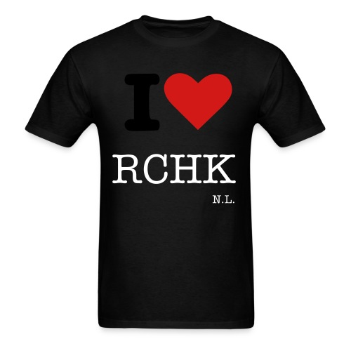 I HEART RCHK - Men's T-Shirt