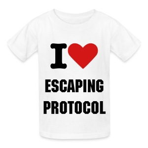 I <3 Escaping Protocol - Kids - Kids' T-Shirt