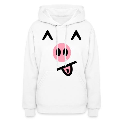 Piggy Face  Hoodie for Women - Women's Hoodie
