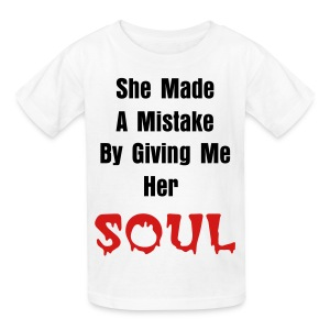 Made A Mistake - Men - Kids' T-Shirt