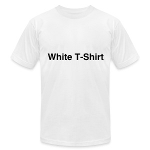 OK! Plain White tee - Men's T-Shirt by American Apparel