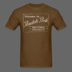 Rosedale Park Men's Standard Weight T-Shirt  - Men's T-Shirt