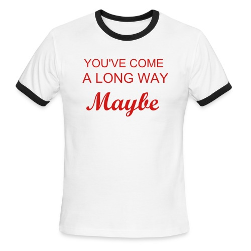 Long Way Maybe Tank - Men's Ringer T-Shirt