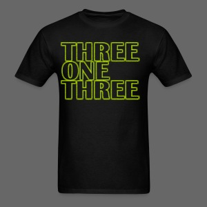 THREE ONE THREE 313 Standard Weight T-Shirt - Men's T-Shirt