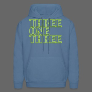 THREE ONE THREE 313 Men's Hooded Sweatshirt - Men's Hoodie