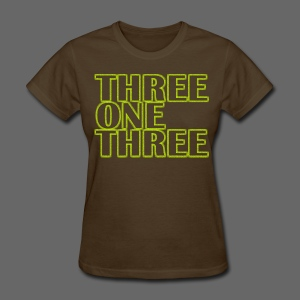 THREE ONE THREE 313 Women's Standard Weight T-Shirt - Women's T-Shirt