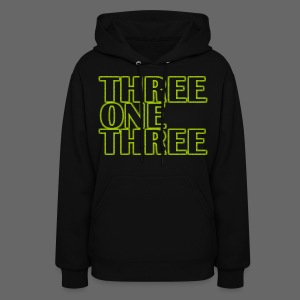 THREE ONE THREE 313 Women's Hooded Sweatshirt - Women's Hoodie