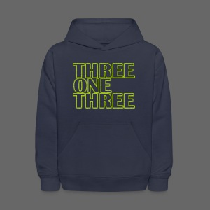 THREE ONE THREE 313 Kid's Hooded Sweatshirt - Kids' Hoodie