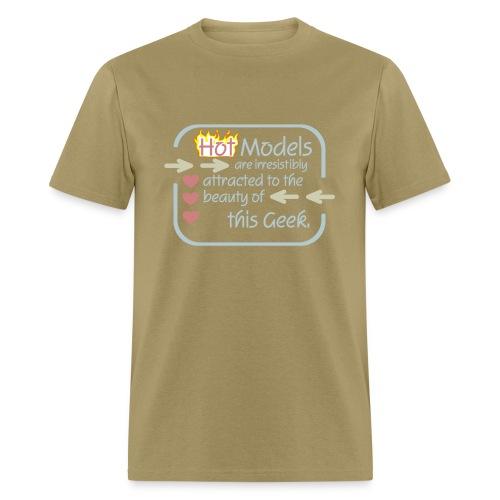 Models to Geek - Men's T-Shirt