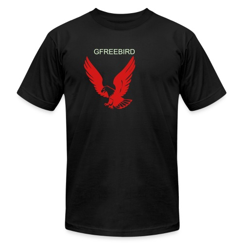 kayos is life's lesson (eagle & name) - Men's  Jersey T-Shirt