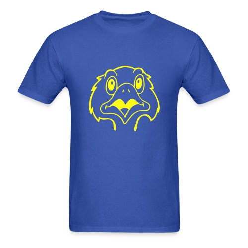 The bird says NO!!! tee - Men's T-Shirt