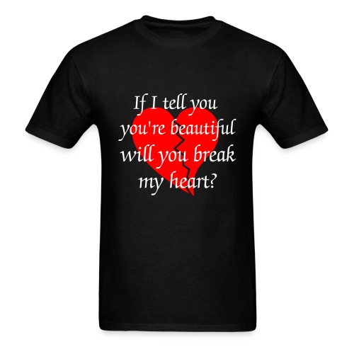 Broken heart & BJ tee - Men's T-Shirt