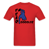 T-Shirts ~ Men's T-Shirt ~ Fear The Goggles - Tyler Clippard