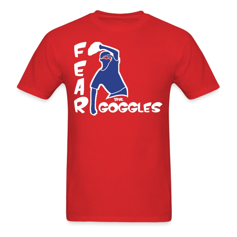 Fear The Goggles - Tyler Clippard - Men's T-Shirt