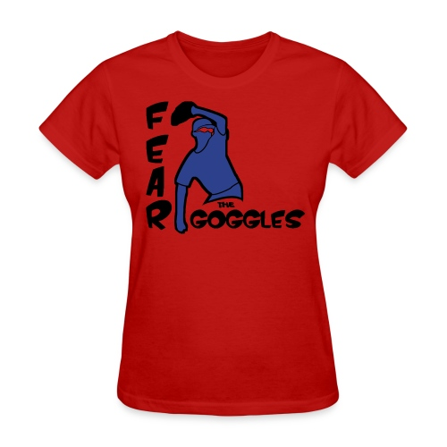 Fear The Goggles - Tyler Clippard - Women's T-Shirt