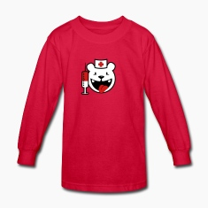 Red nurse koala teddy (3c) Kids' Shirts