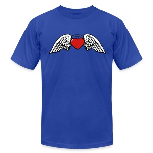 Freedom To Love  T-Shirt for Men - Men's T-Shirt by American Apparel