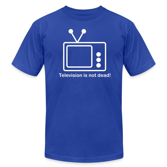 Television is not Dead  - White T-Shirt for Men