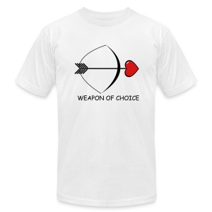Weapon of Choice  T-Shirt for Men - Men's T-Shirt by American Apparel