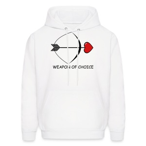 Weapon of Choice  Hoodie for Men - Men's Hoodie
