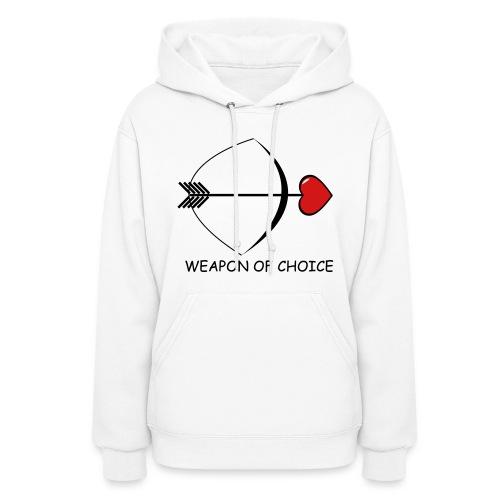 Weapon of Choice  Hoodie for Women - Women's Hoodie