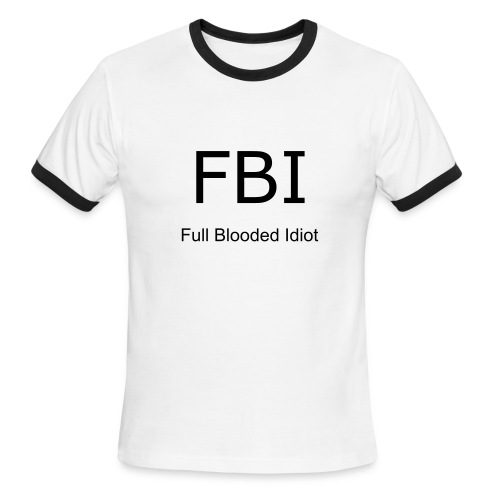 FBI Tee - Men's Ringer T-Shirt