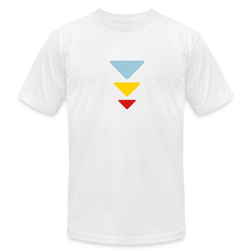 Triadic Triangle  T-Shirt for Men - Men's Fine Jersey T-Shirt