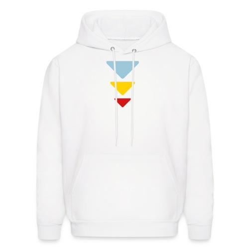 Triadic Triangle  Hoodie for Men - Men's Hoodie
