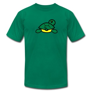 Baby Got Back - Turtle T-Shirt for Men - Men's T-Shirt by American Apparel