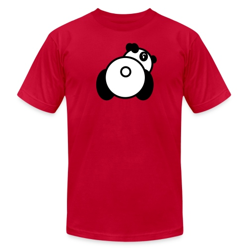 Baby Got Back - Panda T-Shirt for Men - Men's T-Shirt by American Apparel