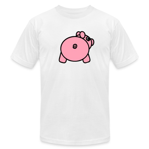 Baby Got Back - Piggy T-Shirt for Men - Men's Fine Jersey T-Shirt