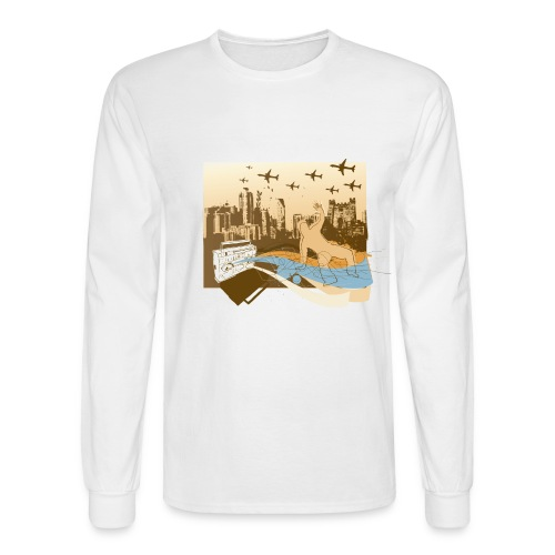 DJ Music - Men's Long Sleeve T-Shirt