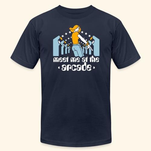 Meet me at the arcade - Men's Fine Jersey T-Shirt