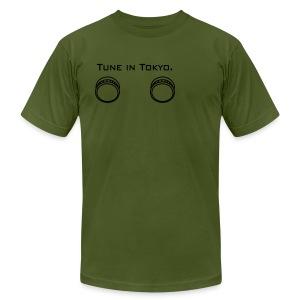 Tune in Tokyo Men's T - Men's Fine Jersey T-Shirt