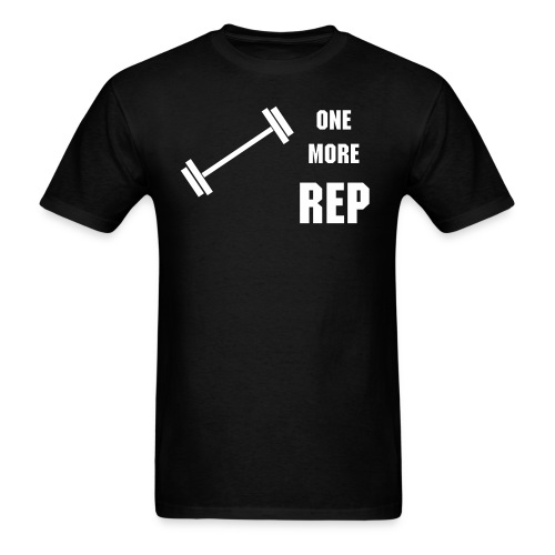 ONE MORE REP - Men's T-Shirt