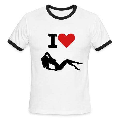 Love Woman - Men's Ringer T-Shirt